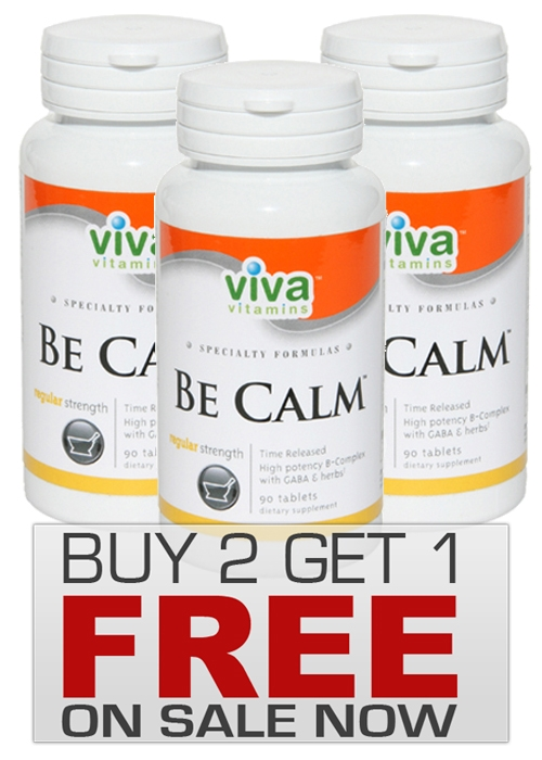 BE CALM VITAMINS ON SALE