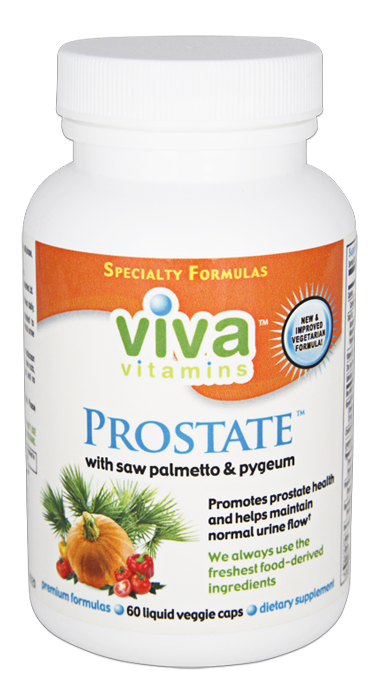 Prostate vitamins with saw palmetto and pygeum