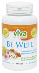 Be Well vitamins by Viva Vitamins